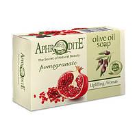 Оливковое мыло APHRODITE с экстрактом граната, натуральное, 100гр Z-74 ТМ: APHRODITE