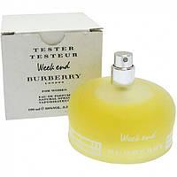 Женская парфюмерия тестер Burbery Weekend 100 ml
