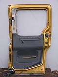 Двері бічна зсувні права б/у на Citroen Berlingo, Pegeot Partner рік 1995-2004 (гола), фото 2