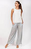 Женские брюки широкого фасона