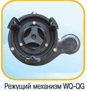 Насос фекальный с режущим механизмом Optima WQ15-15QG 1.5кВт, фото 2
