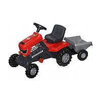 Каталка-трактор с педалями Полесье Turbo с полуприцепом 52681 ТМ: Полесье