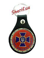 Брелок для ключей СБУ (кожа), 4055
