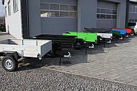 Усиленный прицеп автомобильный легковой одноосный АМС-550 Старконь 170 см * 120 см 550 кг
