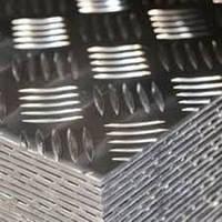 Лист алюминиевый рифленый 4 мм