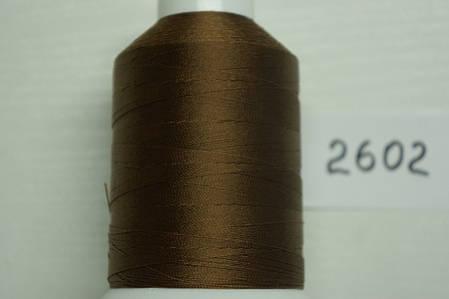 Нить №40 (1000 м.) «Титан» колір 2602 шоколад, фото 2