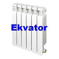 Радиатор алюминиевый для отопления 80х500 (Ekvator)