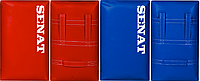 Макивара двойная SENAT ПВХ 58х38х17см (синяя, красная)