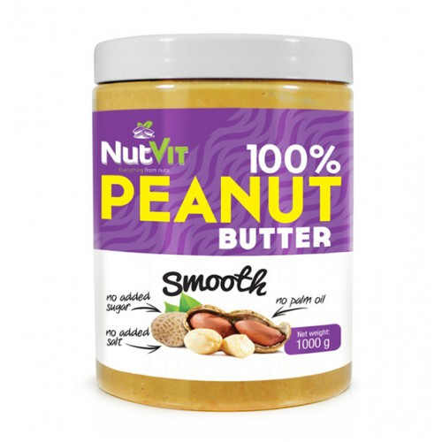 NutVit 100% Peanut Butter 1000 г