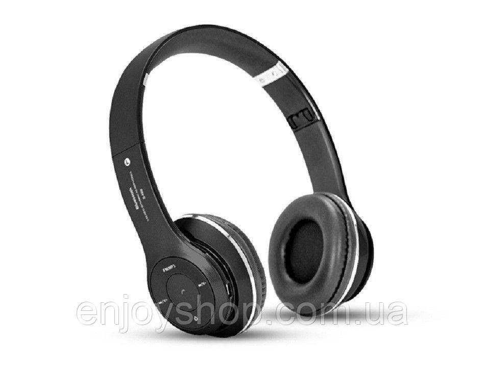 Наушники Bluetooth S460 SD card / FM