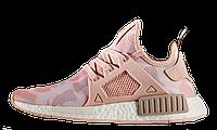 Женские кроссовки Adidas NMD XR1 Pink Camo