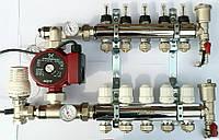 Коллектор для теплого пола FADO на 12 выхода