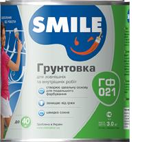 Грунтовка «SMILE®» ГФ021 Серая 0,9 кг