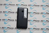 Задняя панель корпуса для мобильного телефона Nokia Lumia 530 черная