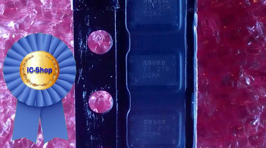 Микросхема TPS22966 ( RB966TI )