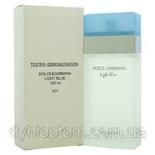 Тестер женских духов Dolce Gabbana Light Blue 100 ml оптом