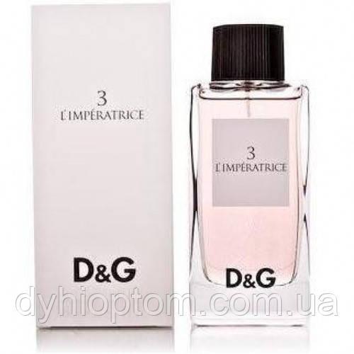 Женские духи тестер L`Imperatrice 3 Dolce & Gabbana 100 ml оптом
