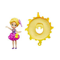 Hasbro  DPR Маленькая кукла принцесса Рапунцель, плавающая на круге