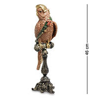 """Статуэтка """"Попугай Арчи"""" 13x15,5x46 см., полистоун Noble Style"""