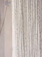 Дождь №1 Белый / Серебро