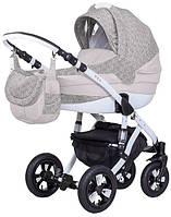 Детская коляска универсальная 2 в 1 Avila len 266W Adamex