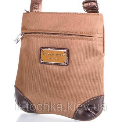 Женская сумка-планшет ted lapidus frhny4004h15-12 бежево-коричневая