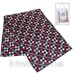 Мужской флисовый шарф eterno es2207-5 в клетку на 175х31 см