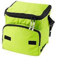 Термосумка с карманом Green (зеленая, голубая, черная)