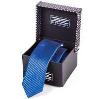 Мужской шелковый галстук eterno (ЭТЕРНО) eteg664