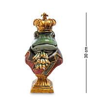 """Статуэтка """"Лягушка Джей Пи Гросс"""" 15,5x13x30 см., полистоун Noble Style"""