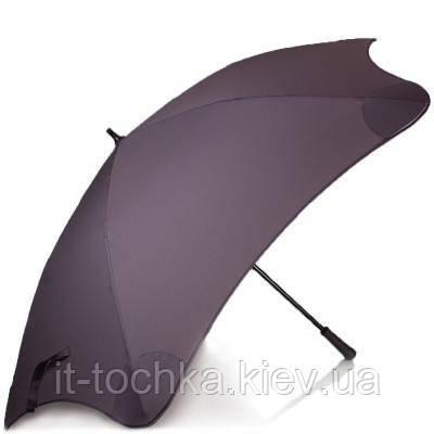 Противоштормовой зонт-трость мужской механический с большим куполом blunt bl-xl-charcoal