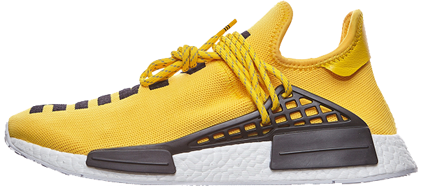 Мужские кроссовки Adidas NMD HU Pharrell Human Race Yellow BB0619, Адидас НМД