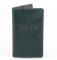 Женская кожаная обложка для паспорта dnk leather (ДНК ЛЕЗЕР) dnk-pasport-hcol.c