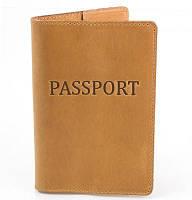 Женская кожаная обложка для паспорта dnk leather (ДНК ЛЕЗЕР) dnk-pasport-hcol.e