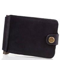 Зажим для купюр мужской кожаный dnk leather (ДНК ЛЕЗЕР) dnk-clamp-hcol.j