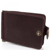 Зажим для купюр мужской кожаный dnk leather (ДНК ЛЕЗЕР) dnk-clamp-trifle-hcol.f