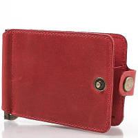 Зажим для купюр женский кожаный dnk leather (ДНК ЛЕЗЕР) dnk-clamp-hcol.h