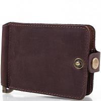Зажим для купюр мужской кожаный dnk leather (ДНК ЛЕЗЕР) dnk-clamp-hcol.f