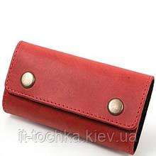 Женская кожаная ключница dnk leather (ДНК ЛЕЗЕР) dnk-keys-scol.h
