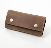 Мужская кожаная ключница dnk leather (ДНК ЛЕЗЕР) dnk-keys-scol.g