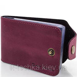 Визитница кожаная женская dnk leather (ДНК ЛЕЗЕР) dnk-cards-hcol.l