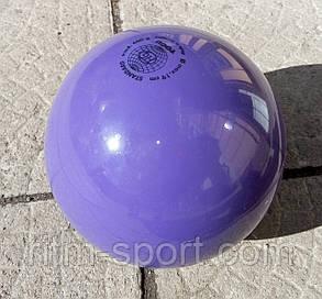 """М'яч для художньої гімнастики T0GU (вага 400 г, d 19 см, колір """"зливу""""), фото 2"""