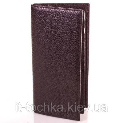 Мужской кожаный кошелек портсмоне karya shi0937-10fl коричневый