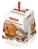 MAINA Crema al cioccolato  - Панеттоне с изюмом и шоколадным кремом, 800g