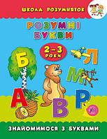 Школа розумняток Розумні букви 2–3 роки (4737)