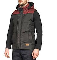 Жилетка мужская, куртка весенняя, осенняя, высокое качество