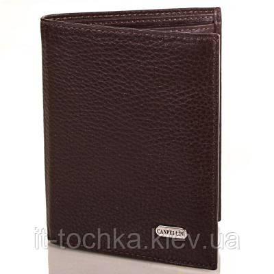 Мужской кожаный кошелек canpellini (КАНПЕЛЛИНИ) shi505-14