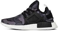 Мужские кроссовки Adidas NMD XR1 Primeknit Duck Camo Black