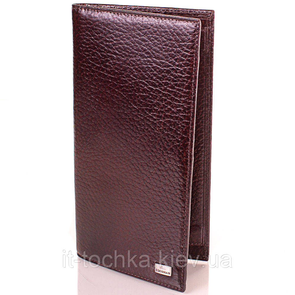 Мужской кожаный кошелек desisan (ДЕСИСАН) shi111-10fl