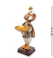 """Статуэтка """"Уточка Клювдия"""" 9x15,5x25,5 см., полистоун Noble Style"""
